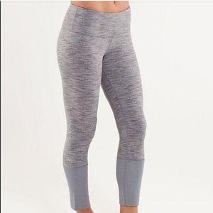 Rare gray wunder under lululemon leggings size 4
